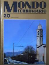 Mondo Ferroviario n°20 Vitada macchinisti - Nasce ETR 500  [TR.6]