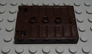 Lego Tür Tor Dunkelbraun                                                  (2050)