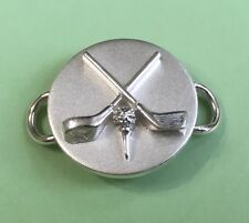 Ball Clasp Sterling Silver 925 New Convertible Bracelet - Golf Clubs &