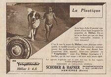 Y7169 Appareil Voigtlander HELIAR - Pubblicità d'epoca - 1930 Old advertising