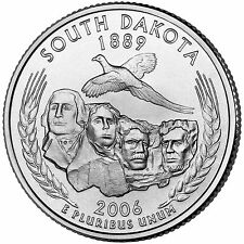 2006 P South Dakota State Quarter BU