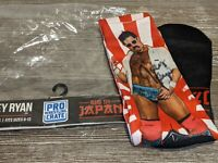 JOEY RYAN Socks Pro Wrestling Crate TNA Impact Big In Japan SIGNED/AUTOGRAPHED