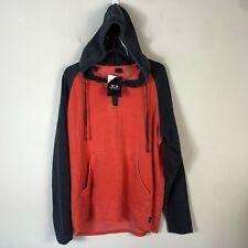 Oakley Hoodie Men's M Red Long Sleeve Pull Over Light Weight Sweatshirt NWT