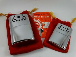 Two Jon-E Hand Warmers with Pouch