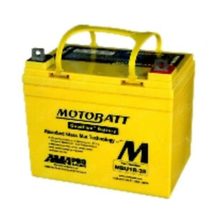 U1-R32 U1-R7 U1-R9 Universal Fits Motobatt Battery With 10 Hour Life