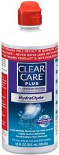 ✦ NEW ✦ CLEAR CARE PLUS W/HYDRAGLYDE CLEANING & DISINFECTING SOLUTION