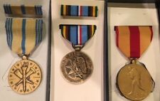 WWII and Post-WWII US Medal Lot of 3 Medals