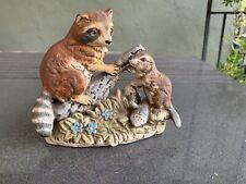 Raccoon And Beaver Ucgc Japsn Figurine