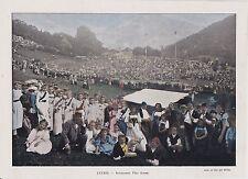 1896  --  SUISSE   INTERLAKEN  FETE ALPINE  3J046