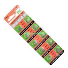 10pcs AG5 393A LR48 LR754 15 193 LR48 D309 399 1.55V Button Cell Coin Batteries
