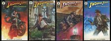 Indiana Jones and the Iron Phoenix Comic set 1-2-3-4 Dave Dorman art Nazi Zombie