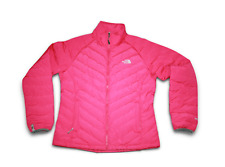 NEW The North Face Women's Full Zip Pine View Puffer Jacket Pink Large NWT $275.