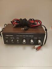 REALISTIC SA-10 Solid State STEREO AMPLIFIER 31-1982B.