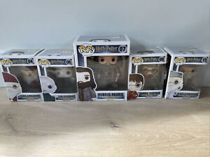 Funko Pop Vinyl Figurine Harry Potter Set Of 5 Figures.
