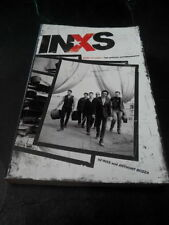 INXS - THE OFFICIAL AUTOBIOGRAPHY BOOK