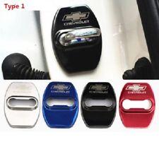 4PCS  Stainless steel car Door lock Striker Cover Door Striker Cover Chevrolet