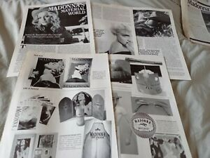MADONNA - promo memorabilia 2001 article / photos