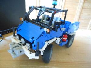 Lego-Technic: Unimog U 411 des Technischen Hilfswerks THW - MOC Eigenbau Unikat