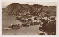 Devon postcard - Hillsborough from Capstone Hill, Ilfracombe - RP