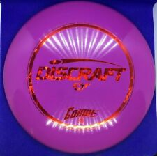 Discraft Pfn Esp Comet Golf Disc Purple With Red Shatter Stamp Never Thrown 173g
