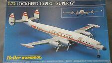 HELLER LOCKHEED TWA 1048G SUPER G CONSTELLATION SEALED PARTS 1/72