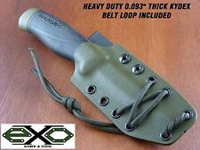 "Heavy Duty 0.093"" Thick Kydex Sheath for Mora Companion Heavy Duty-Robust, OD-"