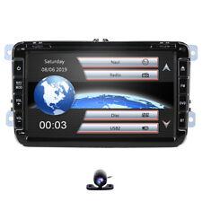 "For VW Volkswagen Jetta Passat EOS 8"" GPS Car Stereo CD DVD 2DIN Radio Bluetooth"