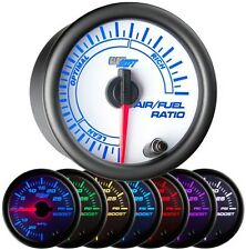 52mm GlowShift White 7 Color Needle Air / Fuel Ratio Gauge - GS-W702