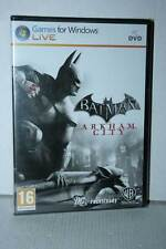 BATMAN ARKHAM CITY GIOCO NUOVO SIGILLATO PC DVD VERSIONE ITALIANA VBC 23551