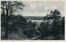 alte sw AK Blick über d. Dachsgrund auf d. Havel ungel. Ansichtskarte al192.522b