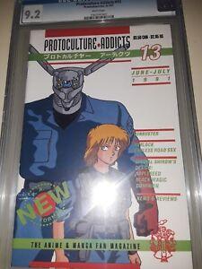 Protoculture Addicts #13 CGC 9.2 - Early Manga / Macross - June 1991