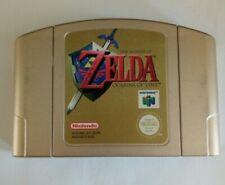 The Legend of Zelda: Ocarina Of Time - Gold Cartridge - PAL - Nintendo 64 - N64