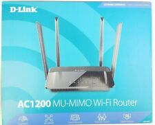 D-Link Wireless AC1200 Dual Band Gigabit WiFi Cloud Router (DIR-842)