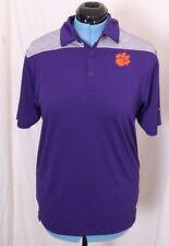 Clemson Tigers Columbia Golf Omni-Wick Heathered Athletic Polo Shirt Men's M