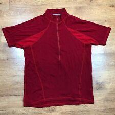 Endura BaaBaa Base Layer Merino Long Sleeve Red 2XL