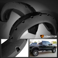 Rugged Textured 2011-2016 Ford F250 F350 SuperDuty Pocket Style Fender Flares