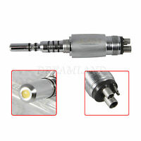 Dental LED E-generator Coupler Quick fit Kavo Fiber Optic Handpiece 4 Hole UKYG4