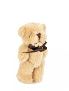 Dolls House Large Furry Teddy Bear Cuddly Toy Miniature Nursery Shop Accessory