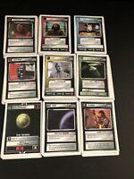 1994 Star Trek the Next Generation Customizable Card Game Lot of 146 Cards EUC