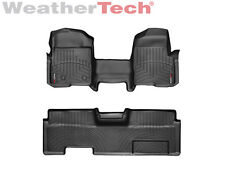 WeatherTech FloorLiner - Ford F-150 Ext. Cab OTH w/o Flow - 2009-2014 -Black