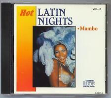HOT LATIN NIGHTS - MAMBO - VOL.2 - MINT IMPORT CD