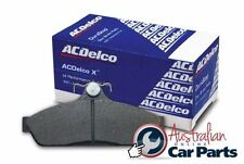 Mitsubishi Pajero NS Front Disc Brake Pads 2006-2008 4D genuine Acdelco