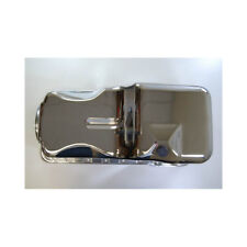 RPC Engine Oil Pan R9532; OE-Style Stock Chrome for 1969-1991 Ford 351W SBF