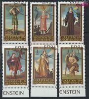 Liechtenstein 1341-1346 gestempelt 2004 Nothelfer (9029925