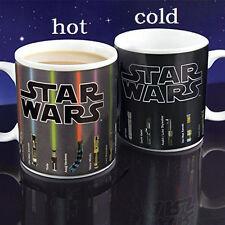 Novelty Star Wars Color Morphing Mug Heat Sensitive Changing Mug Ceramic Tea Mug