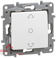 Interruptor persiana rodante Niloe blanco Legrand 664711