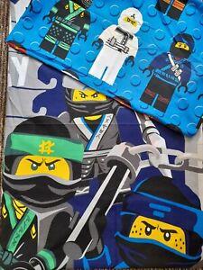USED ONCE! lego Ninjago Single Duvet Cover Set With Pillowcase