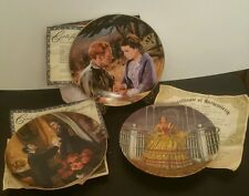 3 COLLECTOR PLATES ~ GONE WITH THE WIND w/ COAs ~ Howard Rogers & Raymond Kursar