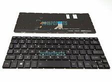 New Black Toshiba Satellite P25W-C P25W-C2300 Keyboard backlit US