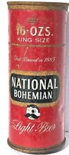 New listing Empty 16Oz National Bohemian Beer Punch-Top With Nc Tax Lid